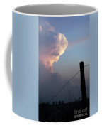 Fence And Sunset Coffee Mug