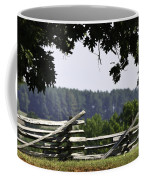 Fence At Appomattox Coffee Mug by Teresa Mucha