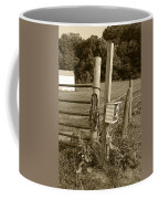Fence Post Coffee Mug