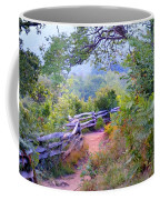 Fence To The Blueberries Filtered Coffee Mug