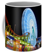 Ferris Wheel At Night Coffee Mug