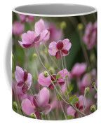 Field Of Japanese Anemones Coffee Mug