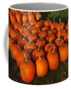 Field Of Pumpkins Coffee Mug