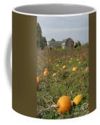 Field Of Pumpkins Coffee Mug