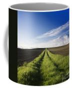 Field Path In Limagne. Auvergne. France. Europe Coffee Mug
