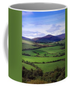 Fields From The Sugar Loaf Mountain, Co Coffee Mug