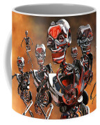 Fierce Androids Riot The City Of Tokyo Coffee Mug