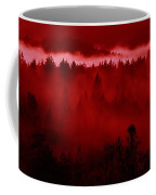 Fiery Forest  Coffee Mug