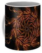 Fiery Pinwheel Coffee Mug