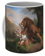 Fight Of A Lion With A Tige Coffee Mug
