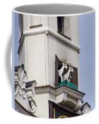 Fighting Goats Of Posnan Poland Coffee Mug