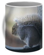 Fighting The Wind Chill Coffee Mug