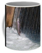Fighting Upstream Coffee Mug