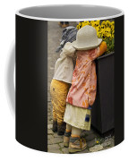 Figurines In Rural Dresses Coffee Mug