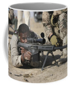 Fijian Contractor Firing A Barrett Coffee Mug