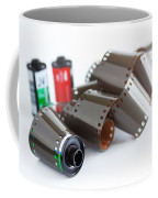 Film And Canisters Coffee Mug