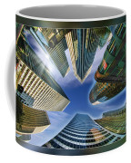 Financial Skyline Coffee Mug
