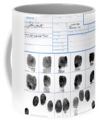 Fingerprint Identification Application Coffee Mug