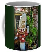 Fins To The Left Coffee Mug by Joan  Minchak