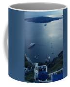 Fira Town View Santorini Coffee Mug