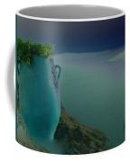 Fira View Santorini Greece Coffee Mug
