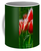 Fire And Ice Fractal Panel 1 Coffee Mug