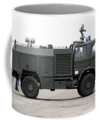 Fire Engine Of The Belgian Army Located Coffee Mug by Luc De Jaeger
