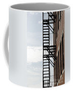 Fire Escape In Boston Coffee Mug