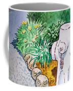 Fire Hydrant Sketchbook Project Down My Street Coffee Mug by Irina Sztukowski
