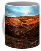 Fire In The Painted Hills Coffee Mug