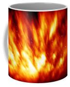 Fire In The Starry Sky Coffee Mug