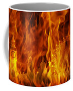 fire London skyline Coffee Mug