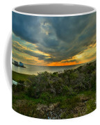 Fire Over The Outer Banks Coffee Mug