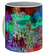 Fire Storm Abstract Coffee Mug