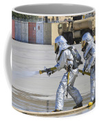 Firefighters Execute Fire Containment Coffee Mug