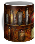 Fireman - Fire Control Coffee Mug by Mike Savad