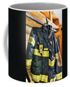Fireman - Saftey Jacket Coffee Mug