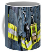 Fireman - The Fireman's Coat Coffee Mug