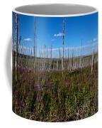 Fireweed  Epilobium Angustifolium Glacier National Park Usa -2 Coffee Mug