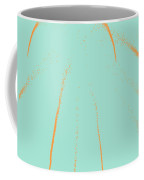 Firework Abstract Lll Coffee Mug by Michelle Calkins