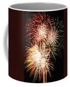 Fireworks 1569 Coffee Mug by Michael Peychich