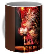 Fireworks Away Coffee Mug