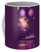 Fireworks In Malta Coffee Mug