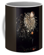 Fireworks Coffee Mug by Michelle Calkins