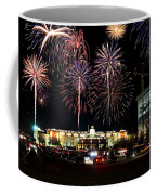 Fireworks Over Firelake Coffee Mug