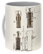 First Electric Battery Coffee Mug