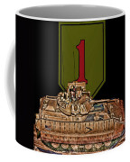 First Infantry Division Bradley Fighting Vehicle Coffee Mug