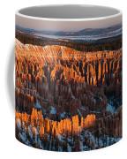 First Light At Bryce Canyon Coffee Mug