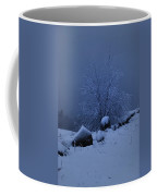 First Snow At First Light Coffee Mug