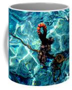 Fish Knot Santorini Greece Coffee Mug